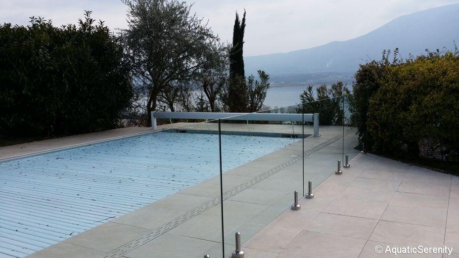 Barri re de s curit protection piscine inox marin et for Entretien jardin istres