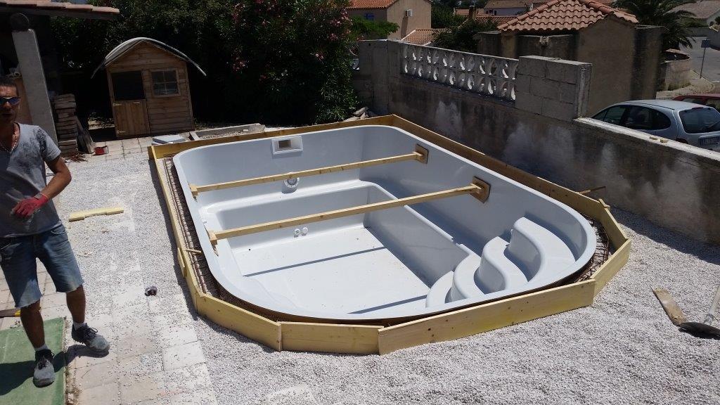 Terrassement et installation compl te de la piscine annecy for Piscine spa annecy