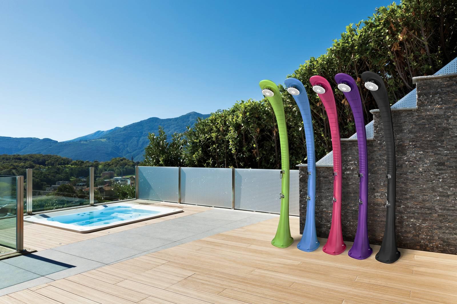 douche solaire ext rieure formidra cobra vente de. Black Bedroom Furniture Sets. Home Design Ideas