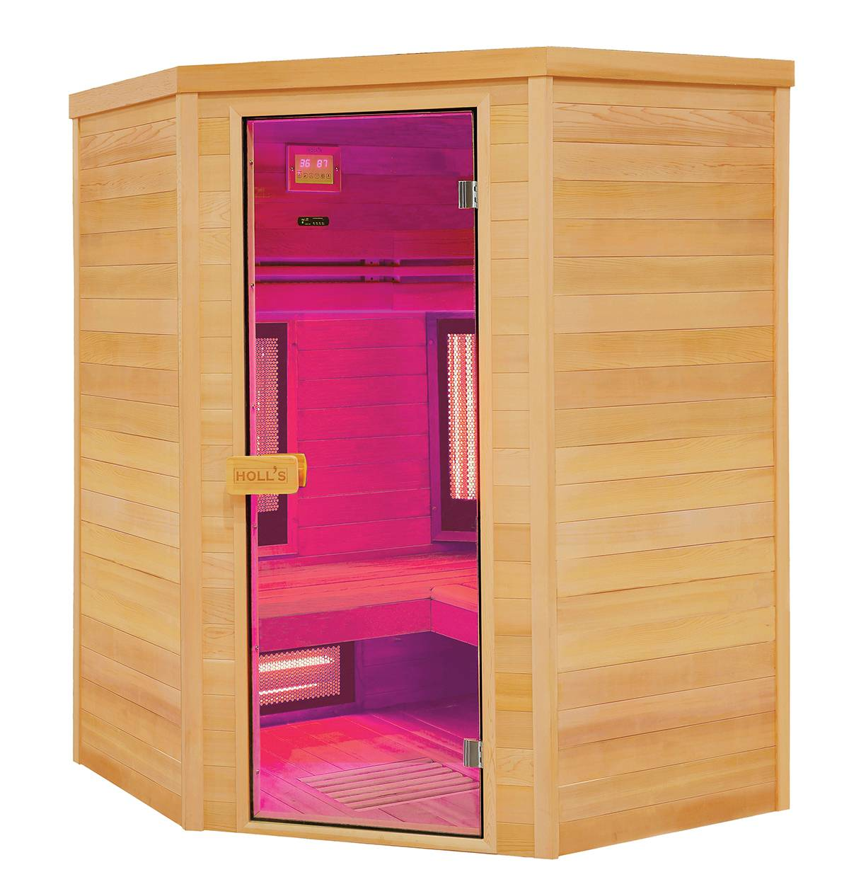 sauna traditionnel infrarouge 2 4 places holls multiwave vente de piscine coque. Black Bedroom Furniture Sets. Home Design Ideas