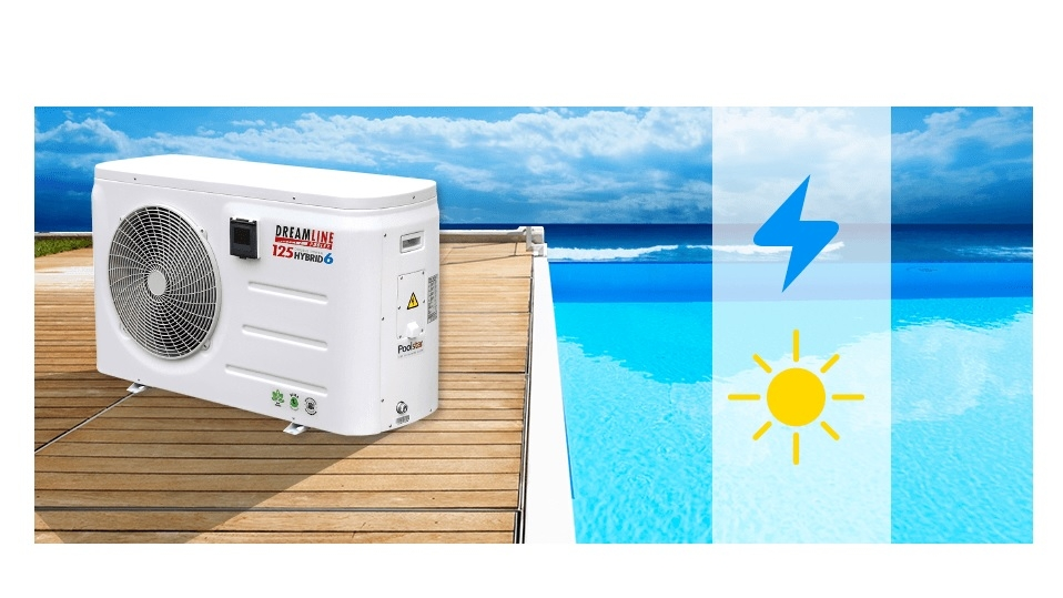 Chauffage piscine dreamline hybrid vente de piscine for Chauffage piscine red line