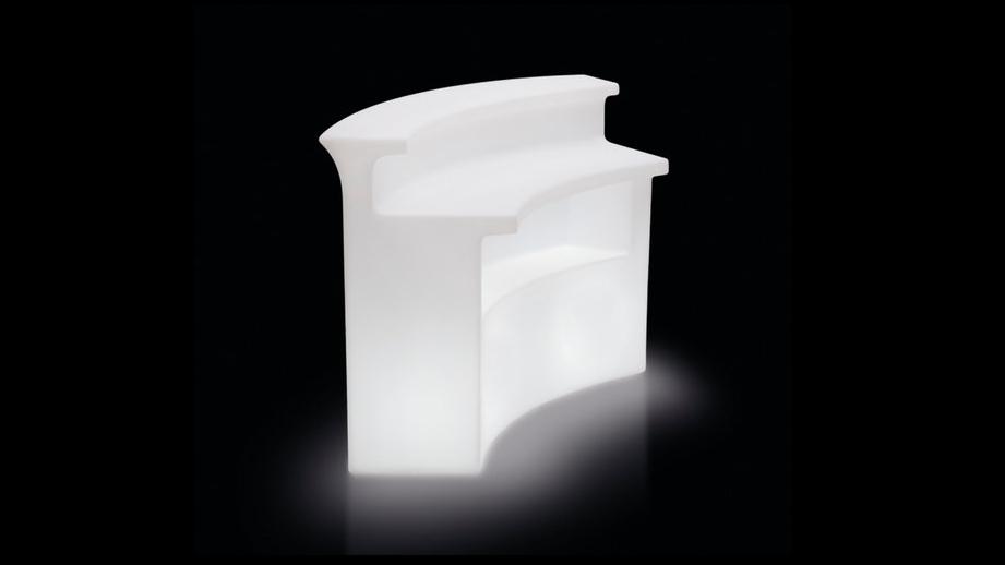 bar comptoir lumineux break bar forme courbe vente de. Black Bedroom Furniture Sets. Home Design Ideas
